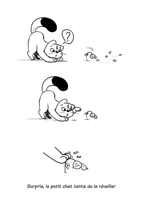 Le chat et la fleur - image 04