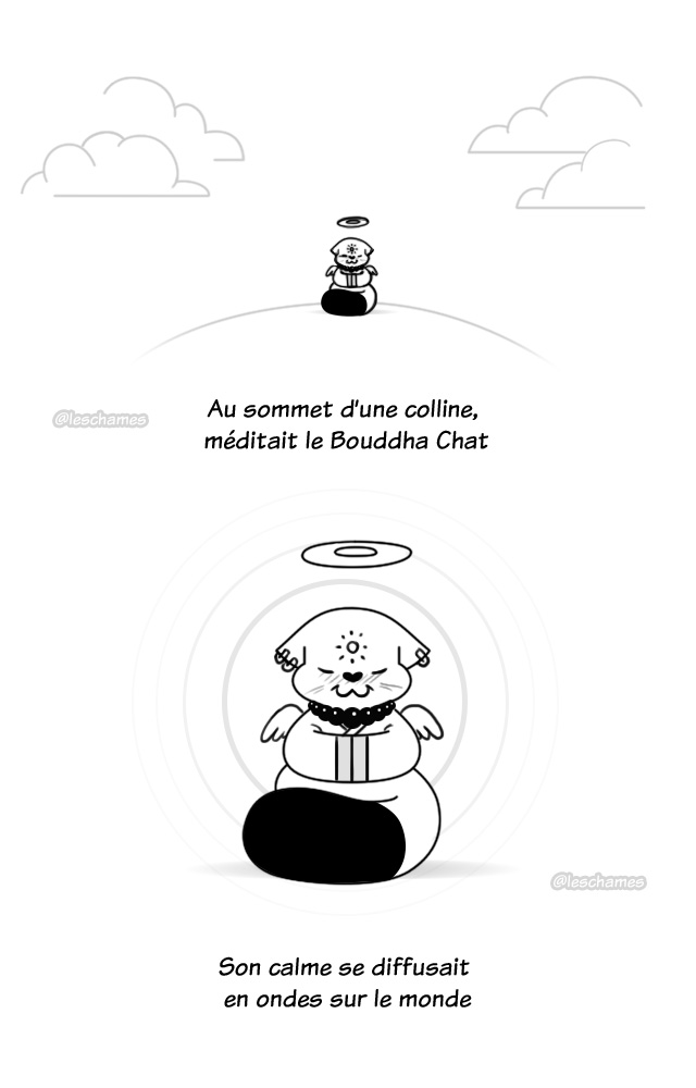 Les Châmes BD - Le secret du Bouddha Chat - Page01