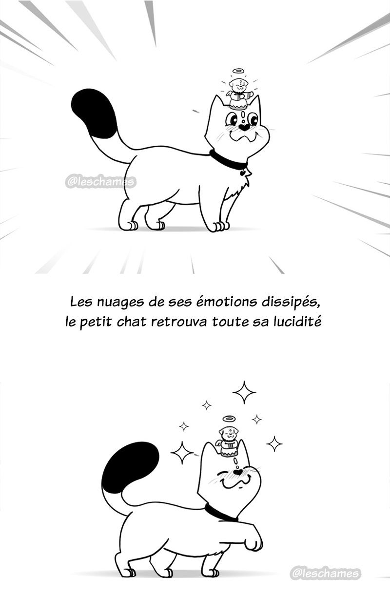 Le chat qui savait dompter le mental - Page19